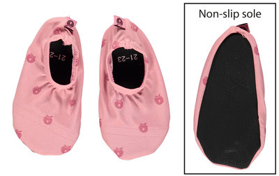 Smafolk swim shoes mini appels roze